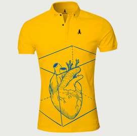 Camisetas polo corazón hearth caballero exclusivas deportivas