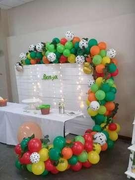 Decoración con globos para todo tipos de eventos,Nachy Deco globos segunda mano  Villa El Fachinal, Córdoba