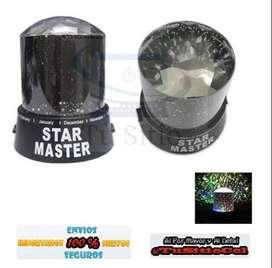 Envio Gratis Proyector Lampara Estrellas Gizmos Domo Star Maste