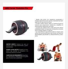 Rueda Abdominal Profesional ABS Carver Evolution Pro entrenamiento gym ejercicios