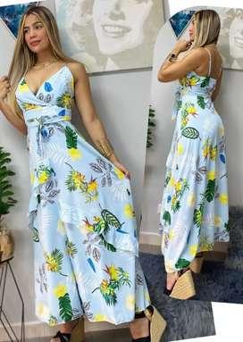 Hermoso vestido largo