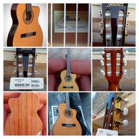 Vendo Guitarra Clásica Electroacústica Ibáñez GA5TCE. NUEVA