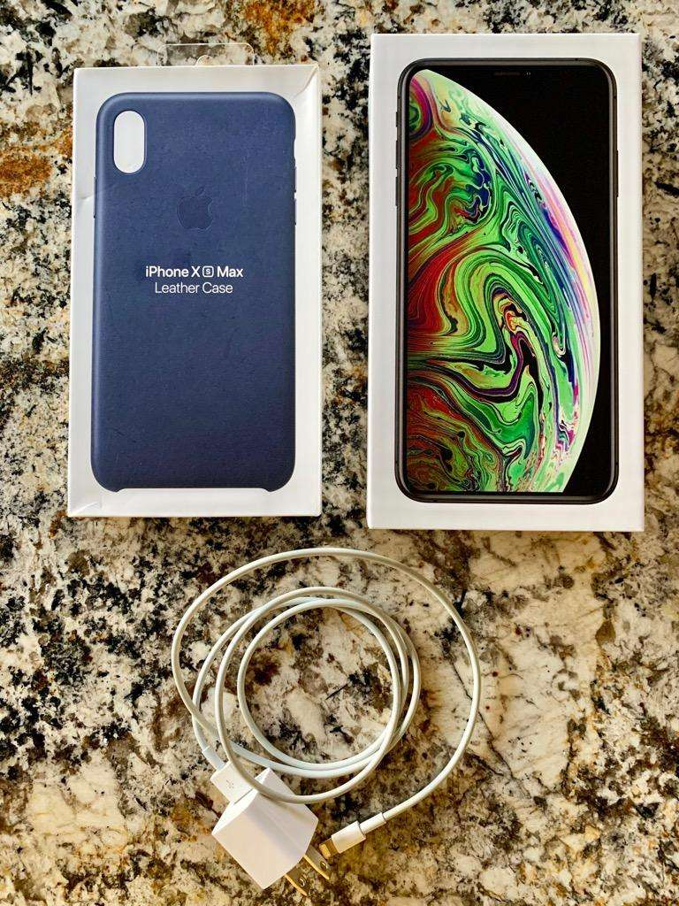 iPhone Xs Max 64Gb Space Gray Original 0