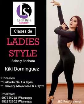 Clases de Ladies Style  Salsa Bachata