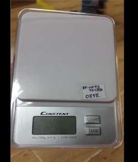 Gramera digital de alta precisión marca Constant de 2 kg NUEVA