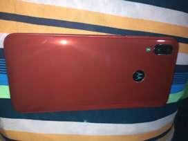 Motorola Moto E6 Plus Rojo