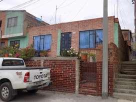 Se vende casa, hermosa vista ala ciudad de Paipa