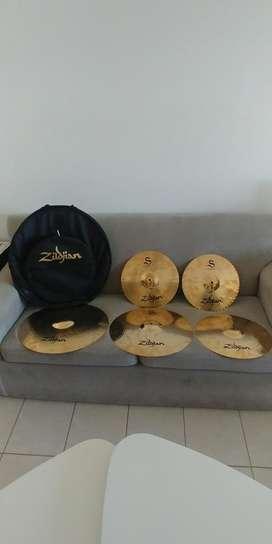 Zildjian S Set Platillos S390 5 Piezas