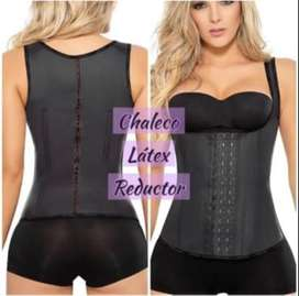 chaleco latex reductor