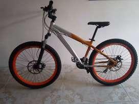 Vendo linda bicicleta rigida