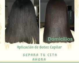 Aplicación de botox Capilar a domicilios