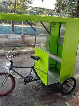 Bici-taxi excelente estado