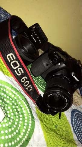 Vendo Canon eos 60D - Accesorios originales - Lente 18-55mm stm + Lente 50mm 1.8 stm