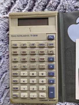 Calculadora cientifica texas instruments