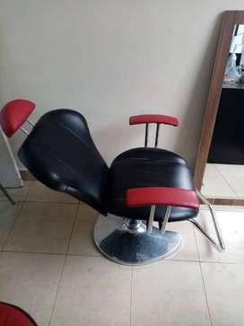 Silla profesional de peluquería o barberia