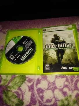 Call of duty4 juegoXBOX360 orijinal