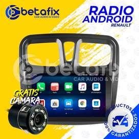 RADIO ANDROID PARA RENAULT SANDERO 2012/2021 GPS BT USB WIFI BETAFIX