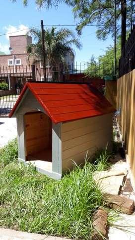 Cuchas para perros de madera N4 atornilladas y encoladas