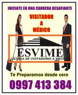 ESVIME- APRENDE A SER VISITADOR A MÉDICO DESDE CERO EN GUAYAQUIL ECUADOR