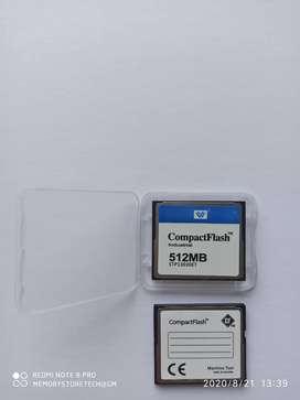 Memoria Compact Flash Industrial de 512mb Nuevas