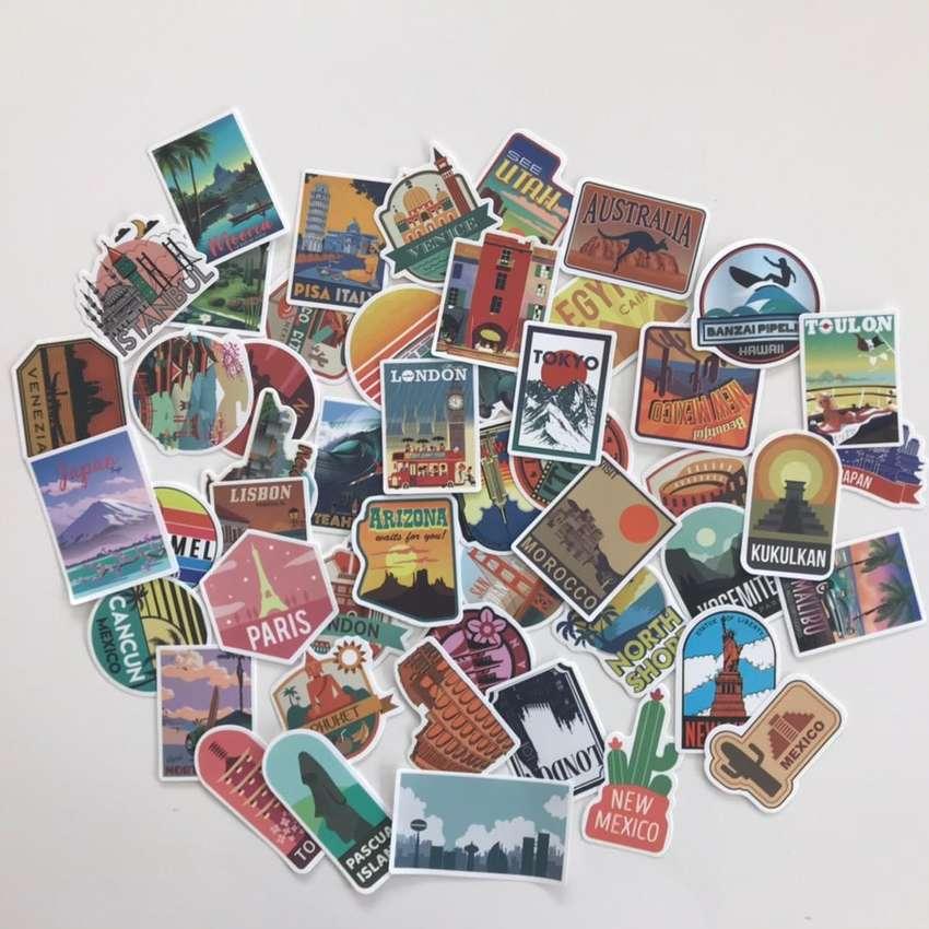 Stickers paises del mundo