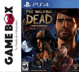 The Walking Dead The Telltale Series A New Frontier Ps4 - Juego en Disco Fisico - Nuevo de Paquete
