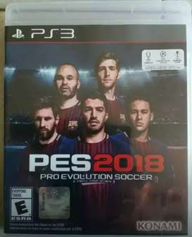Pes Evolution 2018. PS3