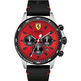 Reloj Ferrari Pilota 0830387 - Cronómetro - 100% Original