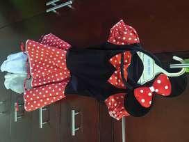 Disfraz de Mini Mouse talla 2-4