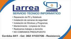 SERVICIO TÉCNICO LARREA