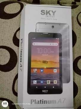 Se vende tablet marca SKY platinum A7 ,16 GB,Android 10.0 y de camara 2 MP frontal y 5 mp back