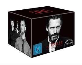 Dr House M.D. (2004-2012) 8 temp 177 episodios en ingles subs esp calidad HD 16 DVD's ENVÍO INCLUIDO