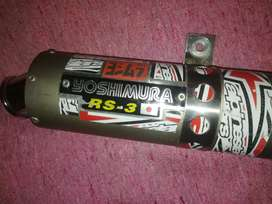 CAÑO DE ESCAPE YOSHIMURA RS-3