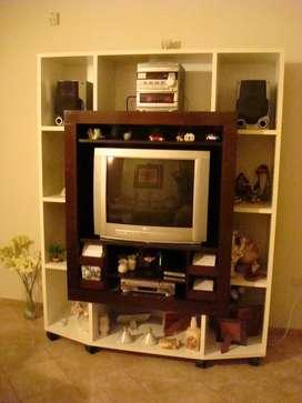 Mueble para Tv, Led, Audio Y Video