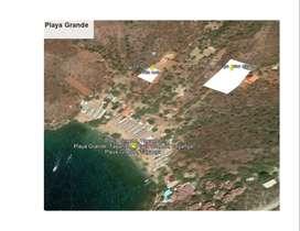MAGNIFICO TERRENO DE PLAYA  ÁREA 1115 MTS.  EN TAGANGA. GANGA ENTREGA INMEDIATA