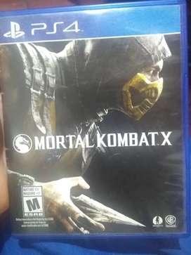 Mortal Kombat X en exelente estado