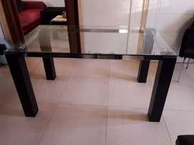 Vendo mesa de vidrio