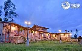 Cabaña Campestre, El cofre casa y campo