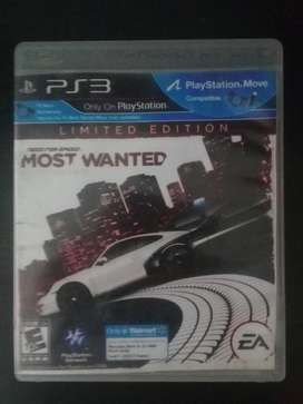 Need For Speed Most Wanted Ps3 Play 3 Cambio