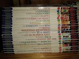 Enciclopedia Biblioteca Escolar Billiken Completa 40 tomos