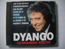 dyango 15 grandes exitos cd buen estado