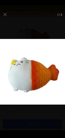 Squishy Gato Blanco Sirena