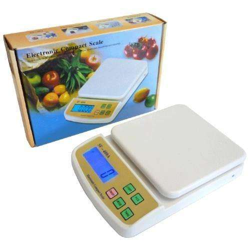 Balanza De Cocina Y Otros Gramera Digital 7 Kilogramos