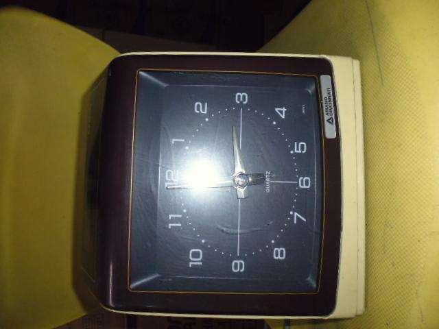 reloj chequeador antiguo electrico no fuciona para reparar 3122802858 0
