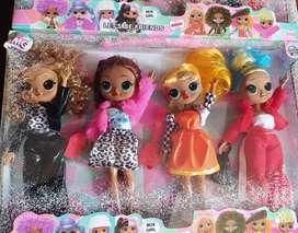 Set muñecas lol excelente material NUEVOS