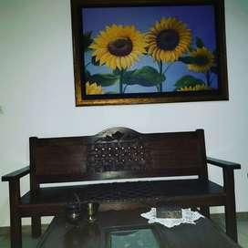 Venta mobiliario de hostal:5 camas sencillas 2 dobles ,ventiladores,sala,tv,nevera,sala,ropa de cama,lavadora,mas