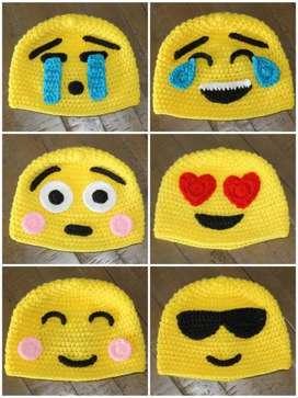 Gorros de emoji