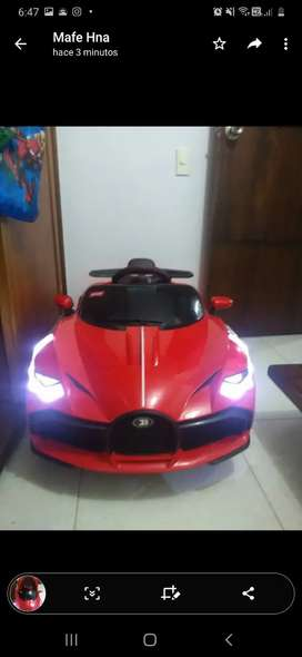 Carro electrico montable con control