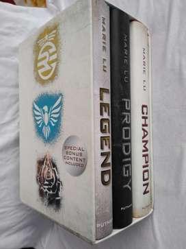 Trilogia Legend Marie Lu boxed set Libros