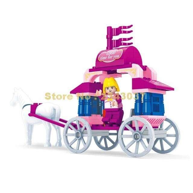 Juguete para armar carruaje princesa 0